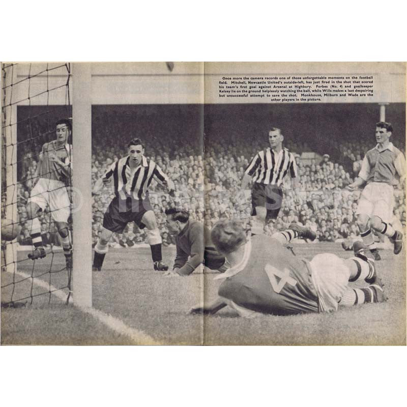 Charles Buchan Football Monthly Magazine | October 1954 | Newcastle United | The Mag Shop