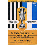 Newcastle United v Porto | 26 November 1970 | UEFA Cup Programme | The Mag Shop