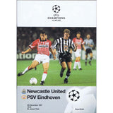 Newcastle United v PSV Eindhoven | 5 November 1997 | UEFA Champions League Programme | The Mag Shop