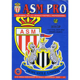 Monaco v Newcastle United | UEFA Cup 18 March 1997 Programme | The Mag Shop