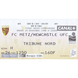 FC Metz v Newcastle United | 19 November 1996 | UEFA Cup Ticket | The Mag Shop