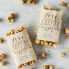 Personalized Wedding Favors with Popcorn
