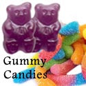 Gummy Candies, gummy bears.