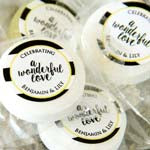 personalized wedding stickers all shapes and sizes