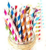 Make the switch.  Switch from plastic straws to paper straws.