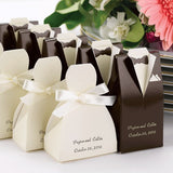 Wedding Tux and Gown Favor Boxes