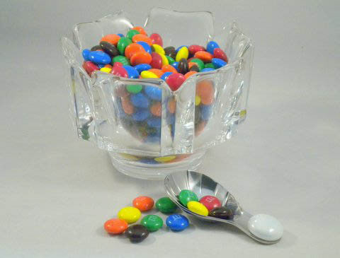 Tea Accessories: Beaded Tea Spoon..... Short and Sweet. Shiny Too!  Great gift for a tea lover. Scoops-Scoops.com