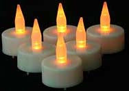 Battery tea lights, candles, tea candles, flameless candles.