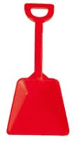 Rred small sand shovel