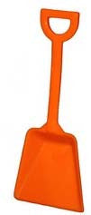 Shovel for your candy buffet.  Orange toy shovels.