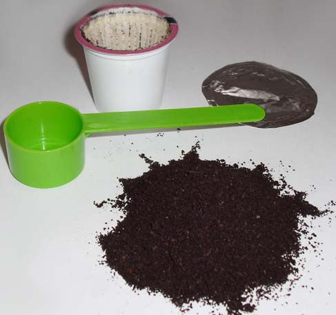 K-Cup Refilling Scoop K-Cup. Coffee scoop, coffee, kcup, top.  Refill your k cups.