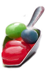 "Small Scoops:  ""MINI"" replacements for your classic mini and double-decker mini candy dispensers. Scoops-Scoops.com"