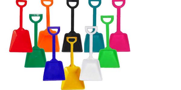 Toy Plastic Shovels. Lots of colors.  sand shovels