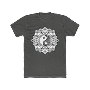 Yin Yang Mandala Men's Cotton Tee - Sutra Wear