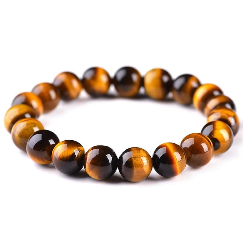 Natural Tiger's Eye Stone Bracelet - Sutra Wear