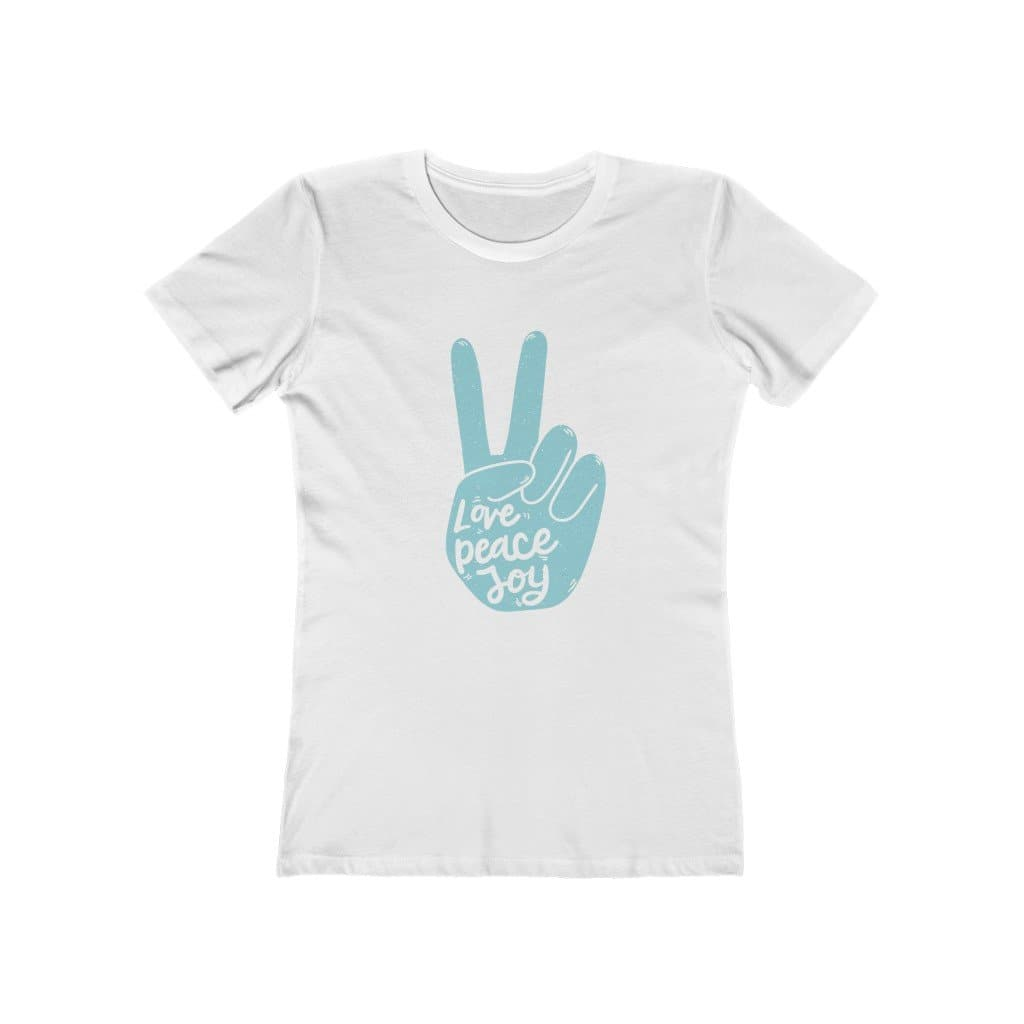Love Peace Joy Tee- Sutra Wear