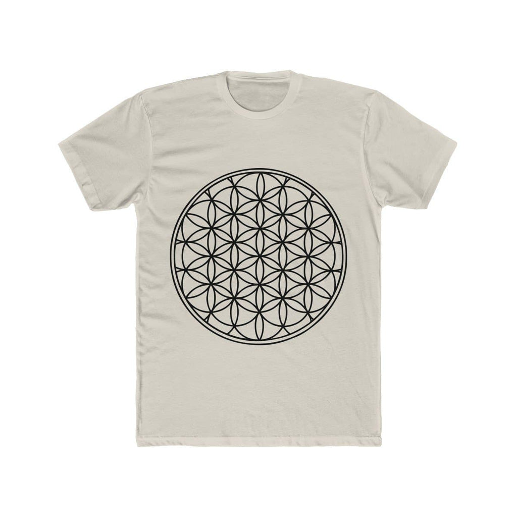 Flower of Life - Men's Cotton Tee - Sutra Wear