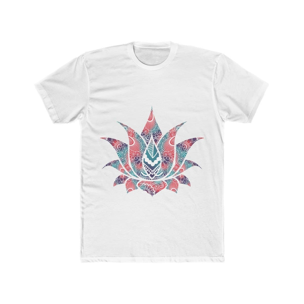Abstract Lotus Art - Men's Cotton Tee - Sutra Wear