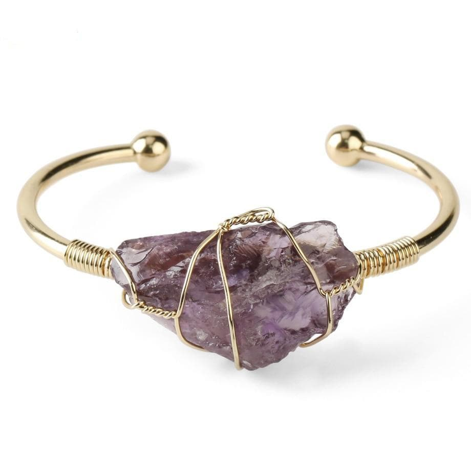 Natural Stone Bangle - Sutra Wear