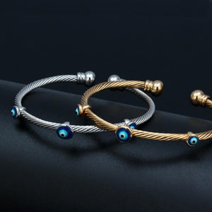 Indian Style Evil Eye Bangle - Sutra wear