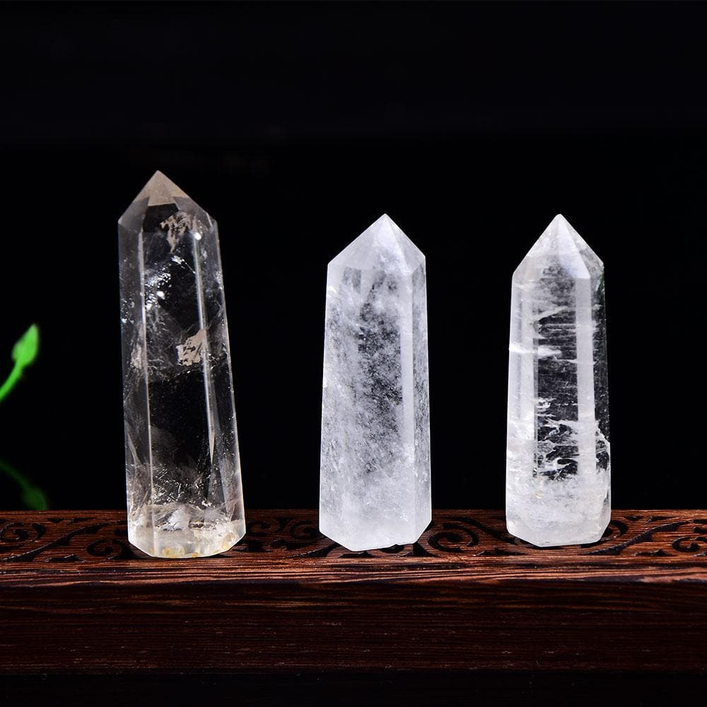 7-8cm Clear Quartz Pencil - Sutra Wear