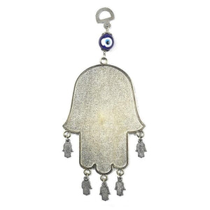 Evil Eye Hamsa Hand Wall Hanging - Sutra Wear