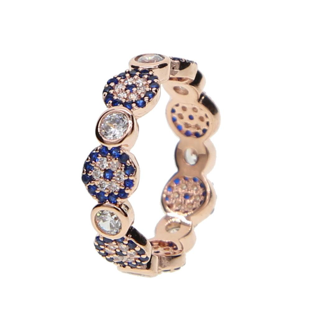 Evil Eye Zircon Ring - Sutra Wear