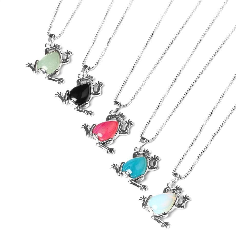 Cute Frog Necklace -  Sutra Wear