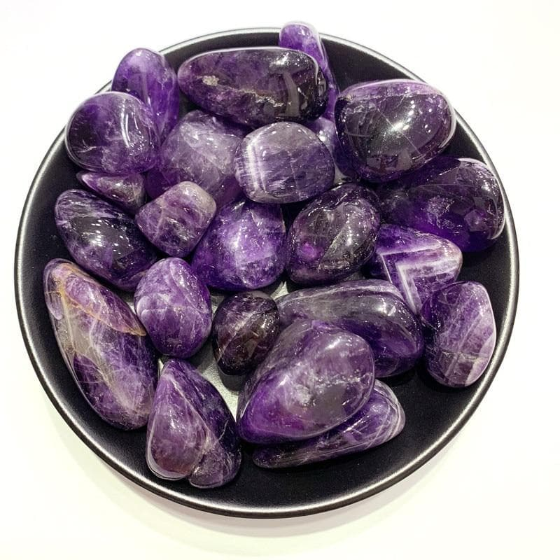 100g Amethyst Tumbled Stones - Sutra Wear