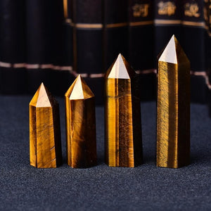 7-8 cm Tiger's Eye Crystal - Sutra Wear