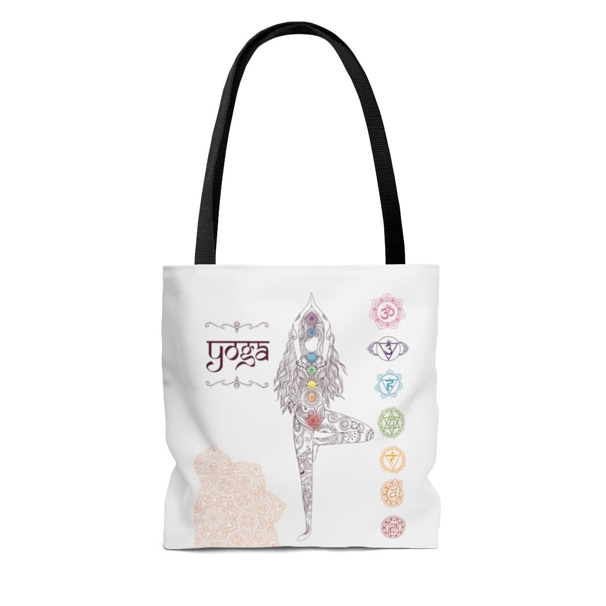 Yoga Tote Bag White - Sutra Wear