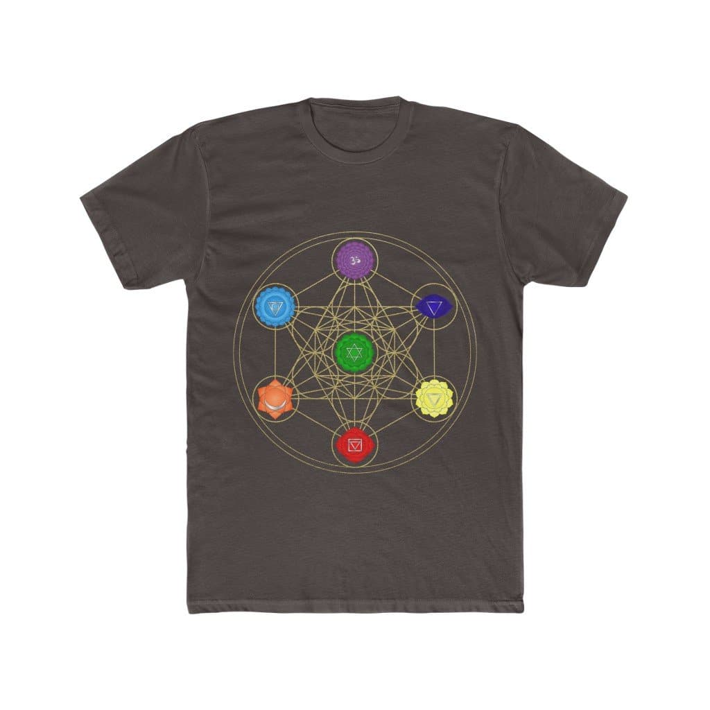 Metatron's Cube - Men's Cotton Tee - Sutra Wear