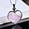 Wishing Bottle Rose Quartz Pendant - Sutra Wear