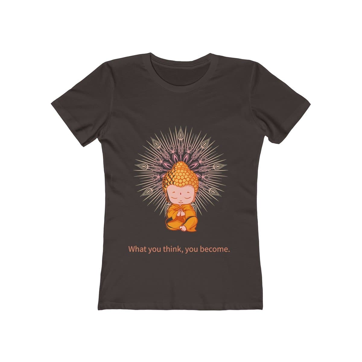 Buddha Thoughts Women's Tee - Sutra Wear