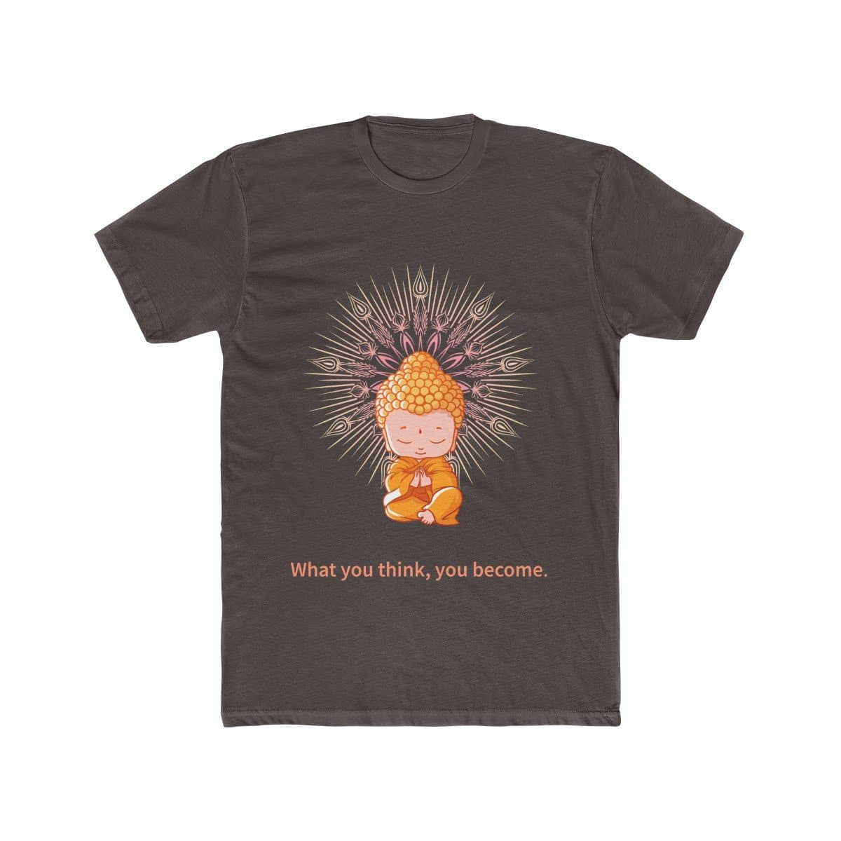 Buddha Thoughts Men's Cotton Tee - Sutra Wear