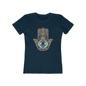 Hamsa Evil Eye Women's Tee - Sutra Wear