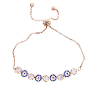 Evil Eye Premium Gold Plated Bracelet - Sutra Wear