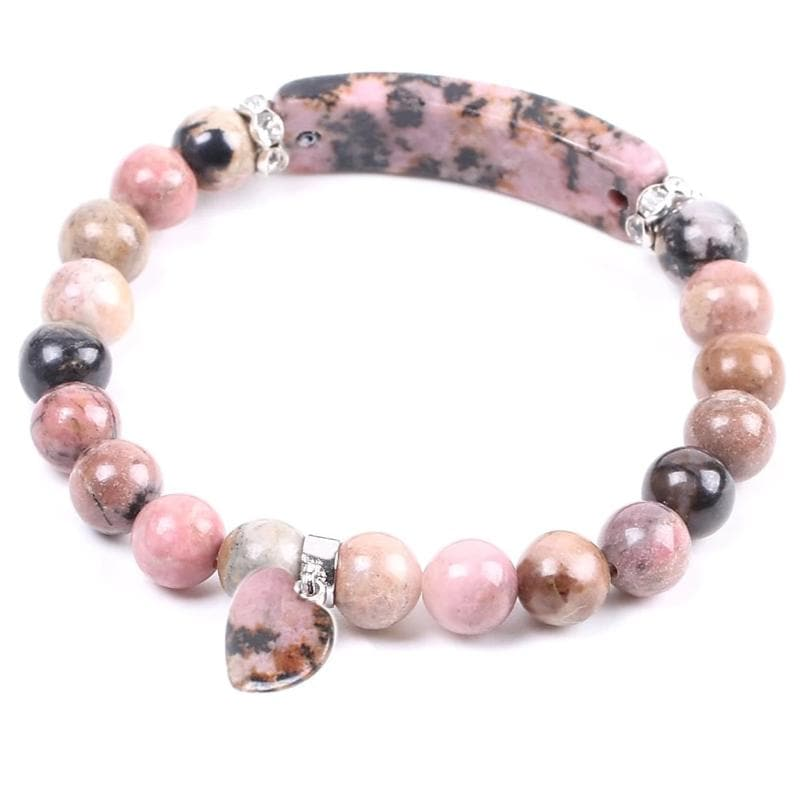 Rhodonite Bracelet - Sutra Wear