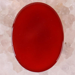 Red Carnelian Stone (40x30MM) - Sutra Wear