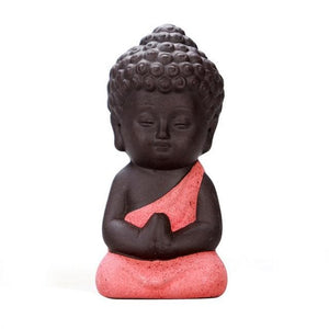 Little Meditating Buddha Statue - Sutra Wear