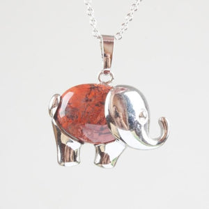 Elephant Crystal Pendant - Sutra Wear