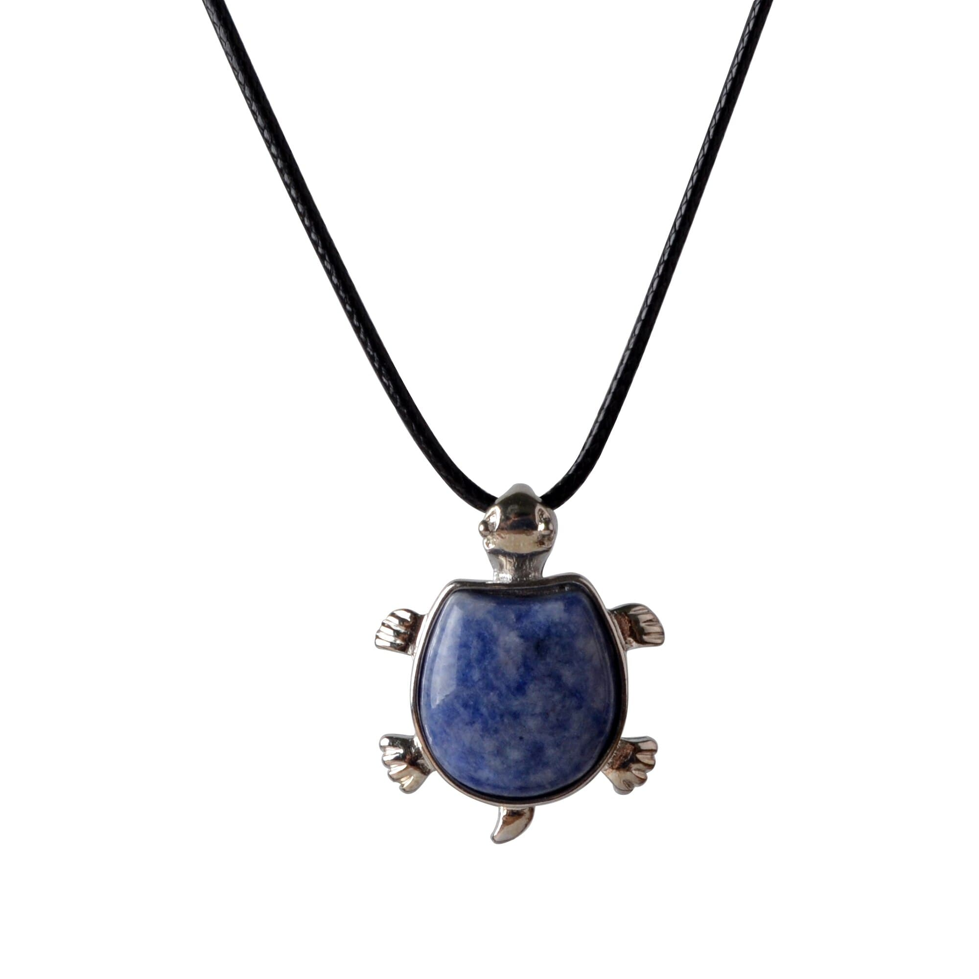 Lapis Lazuli Turtle Nacklace - Sutra Wear