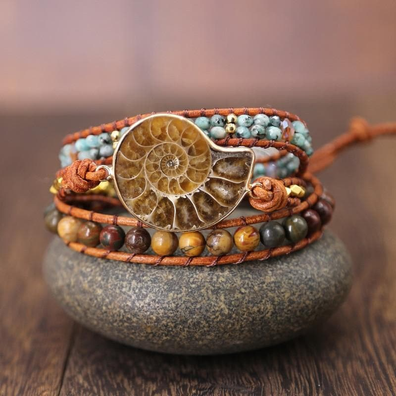Ammonite Bracelet - Sutra Wear