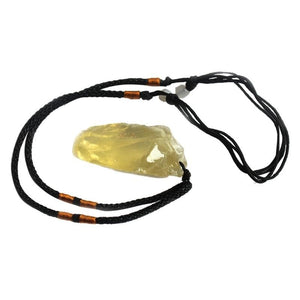 Natural Citrine Stone Pendant - Sutra Wear