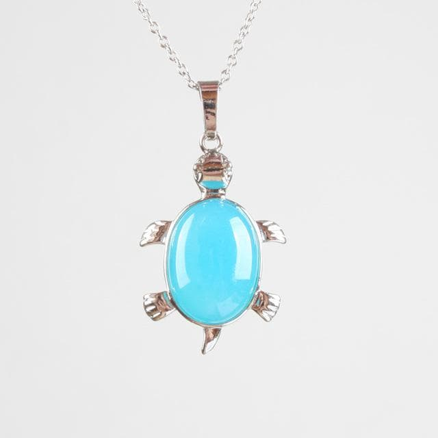 Turtle Crystal Pendant - Sutra Wear
