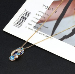 Cute Evil Eye Necklace- Sutra Wear