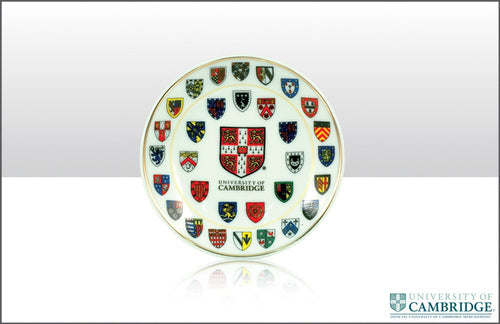Cambridge University Shields Plate 10cm