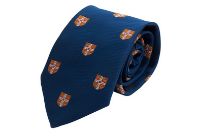 Tie Allover Crests Red