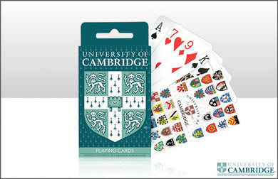 CU College Shields Playing Cards