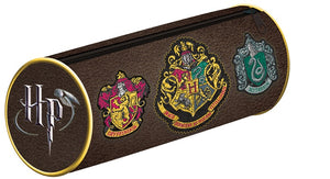 Harry Potter Hogwarts And Houses Crests Pencil Case
